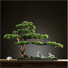 Bonsaï artificiel Ornement de bonsaï artificiel