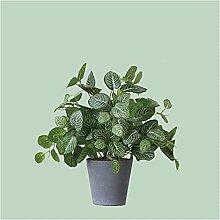 Bonsaï artificiel Plante à feuilles réticulée