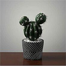 Bonsaï artificiel Plante de cactus artificielle