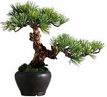 Bonsai Artificielle Artificial Japonais Noir Pine