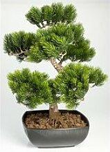 Bonsaï pin artificiel en coupe, 198 épines, 50