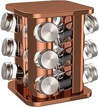 bonVIVO Rondo - Carrousel à épices pour 12 pots