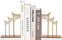 Bookend Supports, Bookend Metal Hollow, Simple