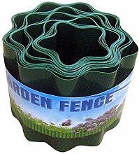 Bordure de pelouse en plastique flexible pour