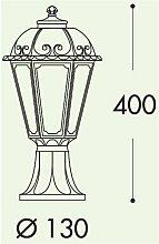 Borne lumineuse lanterne SABA 40cm