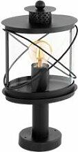 Borne lumineuse rustique ronde hilburn h41 cm ip44