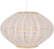 BORNEO-Abat-jour Rotin/Lin H25.5cm naturel Globen