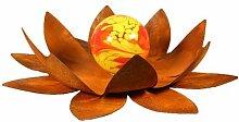Bornhöft Décoration de jardin en forme de lotus