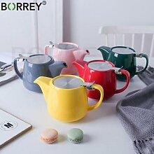 BORREY – théière japonaise en céramique, avec