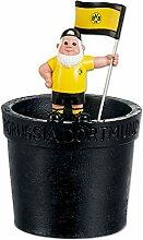 Borussia Dortmund Pot de Fleurs Nain de Jardin BVB.