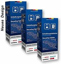 Bosch Lot de 3 packs de 6 tablettes anti-calcaire