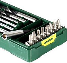 Bosch – Mini perceuse 15, ensemble d'outils