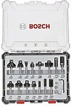 Bosch professional 15pièces jeu de fraises