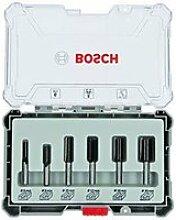 Bosch professional 6pièces jeu de fraises