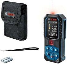 BOSCH Télémètre laser GLM 50-27 CG rouge avec 2