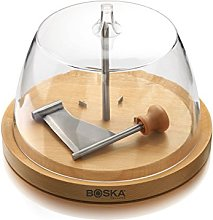 BOSKA 850511 Fraiseur à Fromage avec Cloche