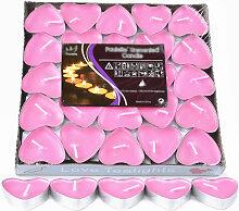 Bougie Chauffe-Plat Parfumee Romantique 50 Paquets
