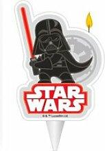 Bougie d'anniversaire dark vador star wars™