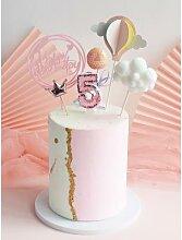 Bougie de décoration pour gâteau joyeux