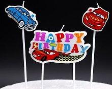 Bougie de gâteau d'anniversaire, bougie de