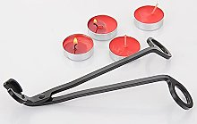 Bougie Wick Tool Lampe à huile en acier