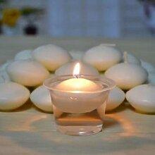 Bougies romantiques flottantes, 10 pièces/lot,
