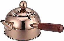 Bouilloire à sifflet Rose Or Teapot bouilloire,