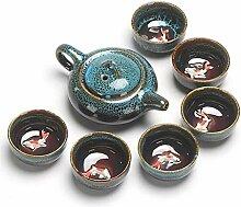 Bouilloire à thé avec infuseur Kung Fu Tea