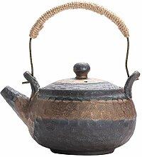 Bouilloire à thé avec infuseur Pot en grès