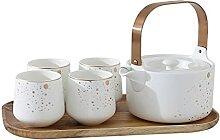 Bouilloire à thé avec infuseur Théière et thé