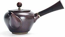Bouilloire à thé avec infuseur Vintage fait à