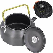 Bouilloire à thé, bouilloire de camping en plein