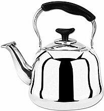 Bouilloire à thé en acier inoxydable poli miroir