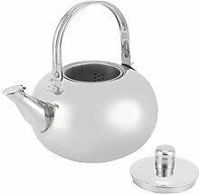 Bouilloire à thé raffinée, théière en acier