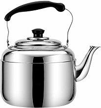 Bouilloire à thé sifflant en acier inoxydable