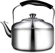 Bouilloire à thé sifflante Cuisinière Théière