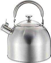 Bouilloire à thé sifflante en acier inoxydable,