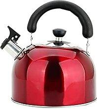 bouilloire à thé sifflante pour cuisinière,