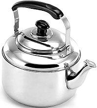 Bouilloire à thé sifflante pour plaque de