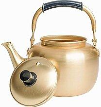 Bouilloire à thé sifflante rétro pour