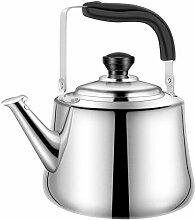 Bouilloire à thé sifflante théière en acier