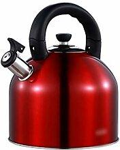 Bouilloire de cuisinière Grande capacité rouge