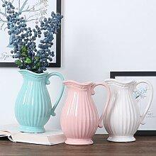 Bouilloire en céramique, Vase à fleurs, couleur