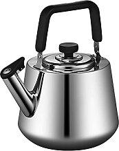 Bouilloire sifflante de thé d'acier