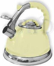Bouilloire sifflante pour gaz et plaques