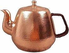 Bouilloire Teapot Fait de cuivre épais Teapot en