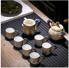 Bouilloire Thé de porcelaine Ensemble de