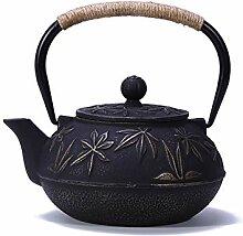 bouilloire théière japonaise, Moulage thé