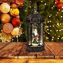 Boule à neige de Noël - Petite lanterne LED