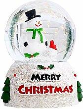 Boule à neige musicale de Noël - Boule de verre